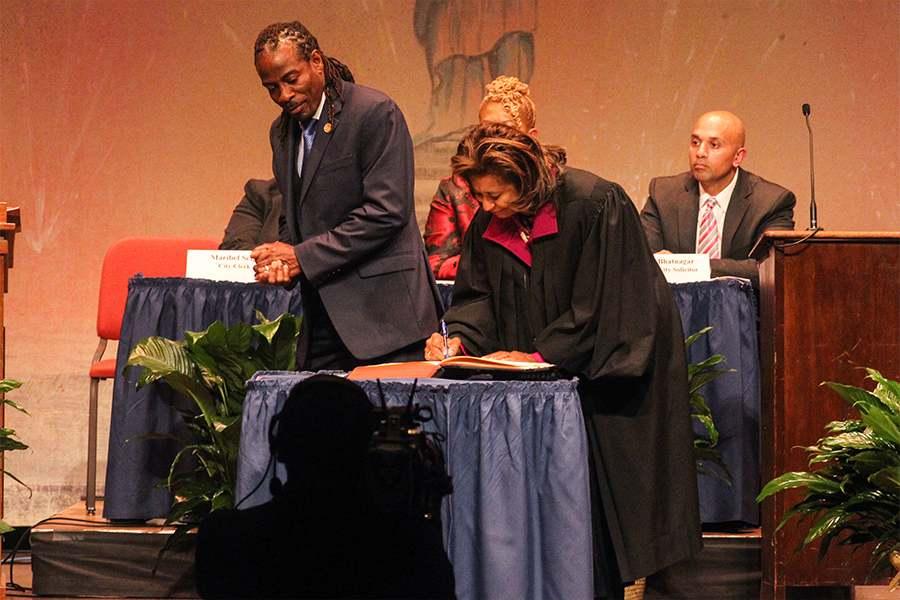 Wilmington City Council 107th Inaguation - 1st District N Chukwuocha